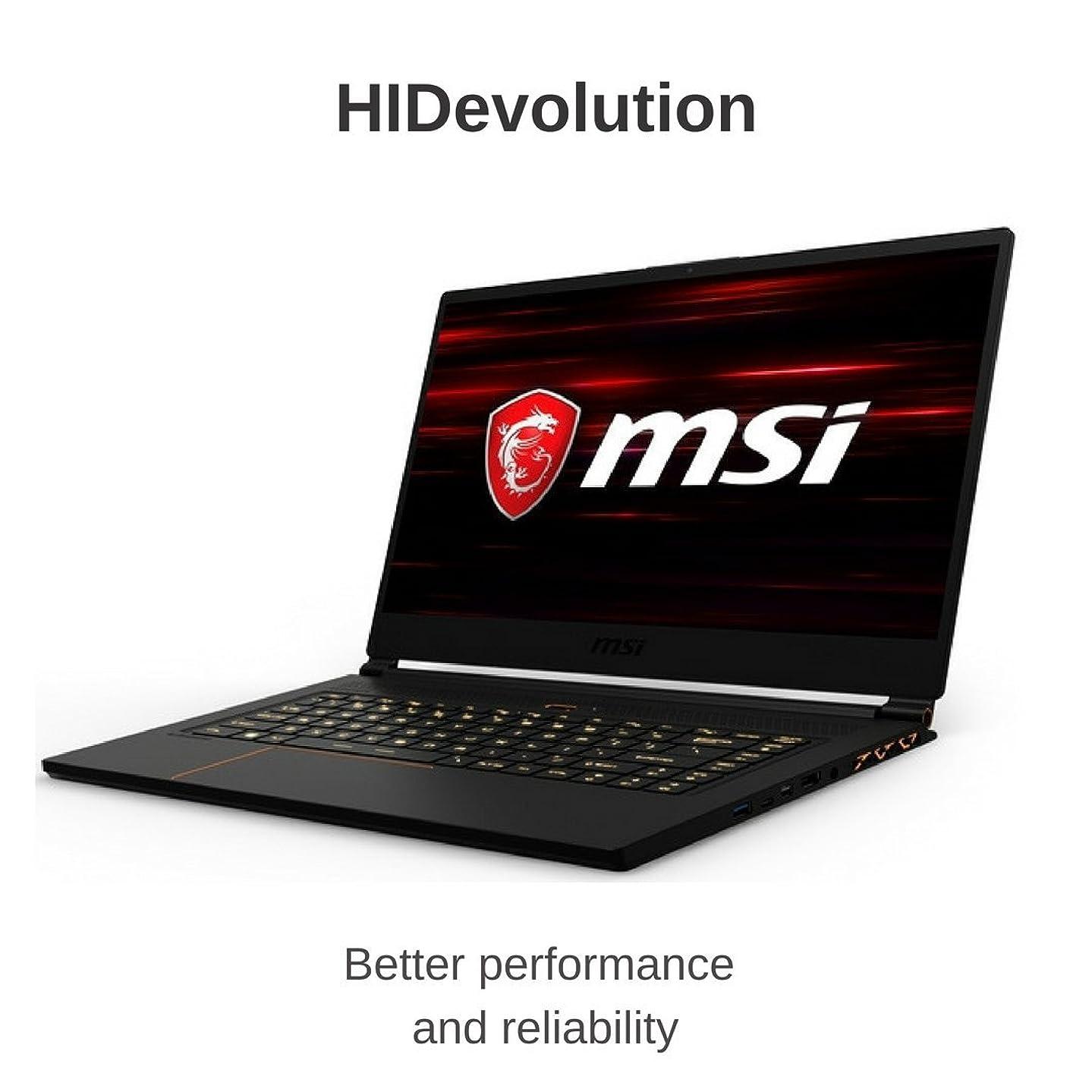 "Gaming Laptop, HIDevolution MSI GS65 8RF 15.6"" FHD 144Hz, 2.2 GHz i7-8750H, GTX 1070, 16GB DDR4/2400MHz RAM, PCIe 512GB SSD, Authorized Performance Upgrades & Warranty"
