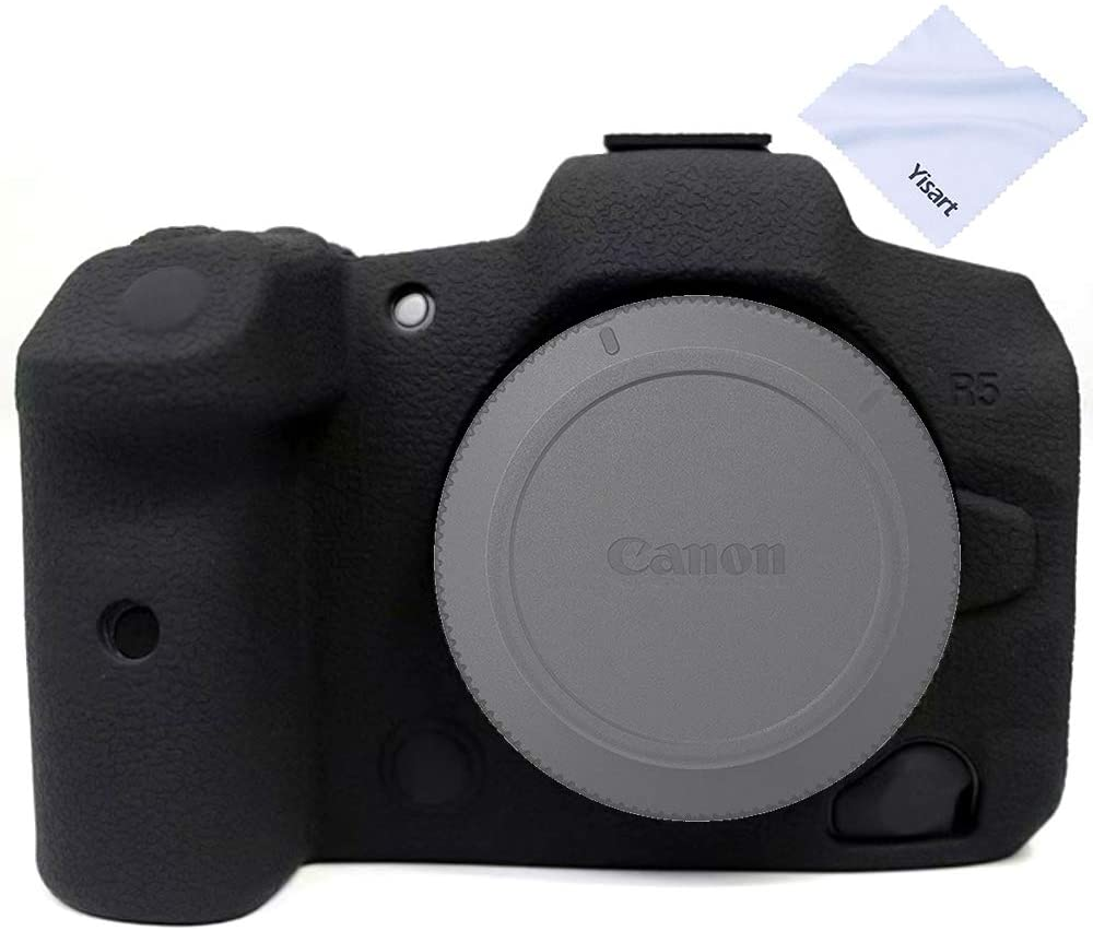 Yisau Case for Canon EOS Came Silicone National uniform free shipping R5 Max 71% OFF DSLR Camera