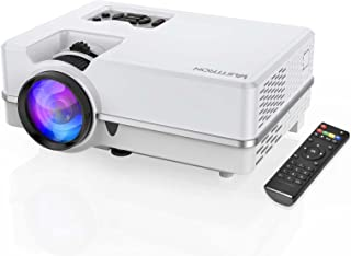 Vasttron Mini Projector,Portable Movie Projector,Small Multimedia Home Theater Video Projector,Compatible with Full HD 108...