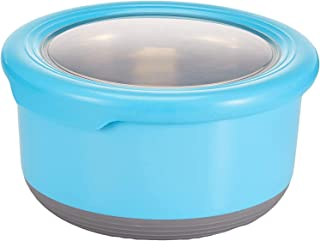 Winsor Plastic/Stainless Steel Food Container, 420 ml, Assorted