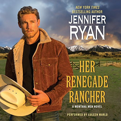 Her Renegade Rancher audiobook cover art