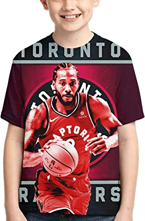 Toronto Rap-tors Champions 2019 Youth Boys Girls 3D Printed Short Sleeves Tee Shirt Fashion Youth Tshirts