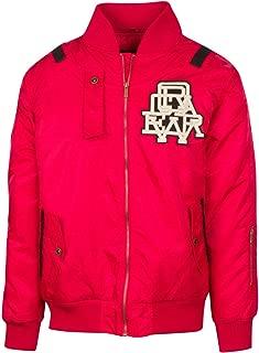 Mens Parka Styled Varsity Jacket Coat