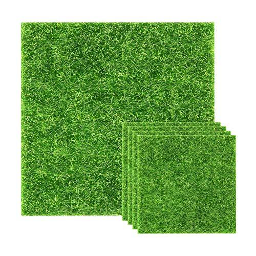N//A tappeto erboso artificiale realistico verde, per interni ed esterni, prato sintetico per...