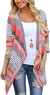 Meflying Women Casual Soft Open Front Cardigan...