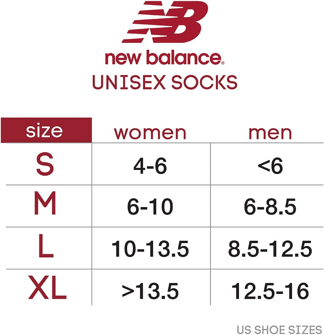 New Balance Men's Socks – Big and Tall No Show Athletic Performance Ankle Sock Liners (3 Pack)