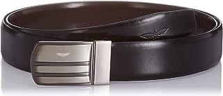 Park Avenue Men's Leather Belt (PZLX00850-X1_Multicolor_Std)