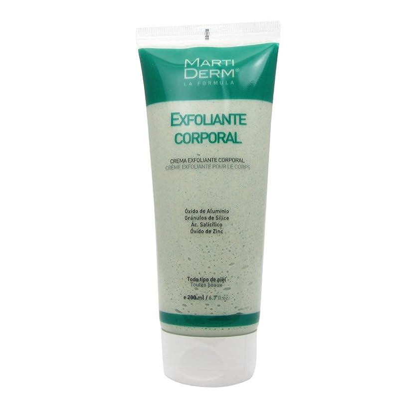 住所葉を集める幸運Martiderm Exfoliating Body Cream 200ml [並行輸入品]