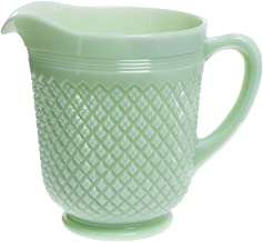 "product image for Mosser Glass 48 oz Jadeite Green Glass Addison Pitcher - 8 1/2""Dia x 7 1/2""H"