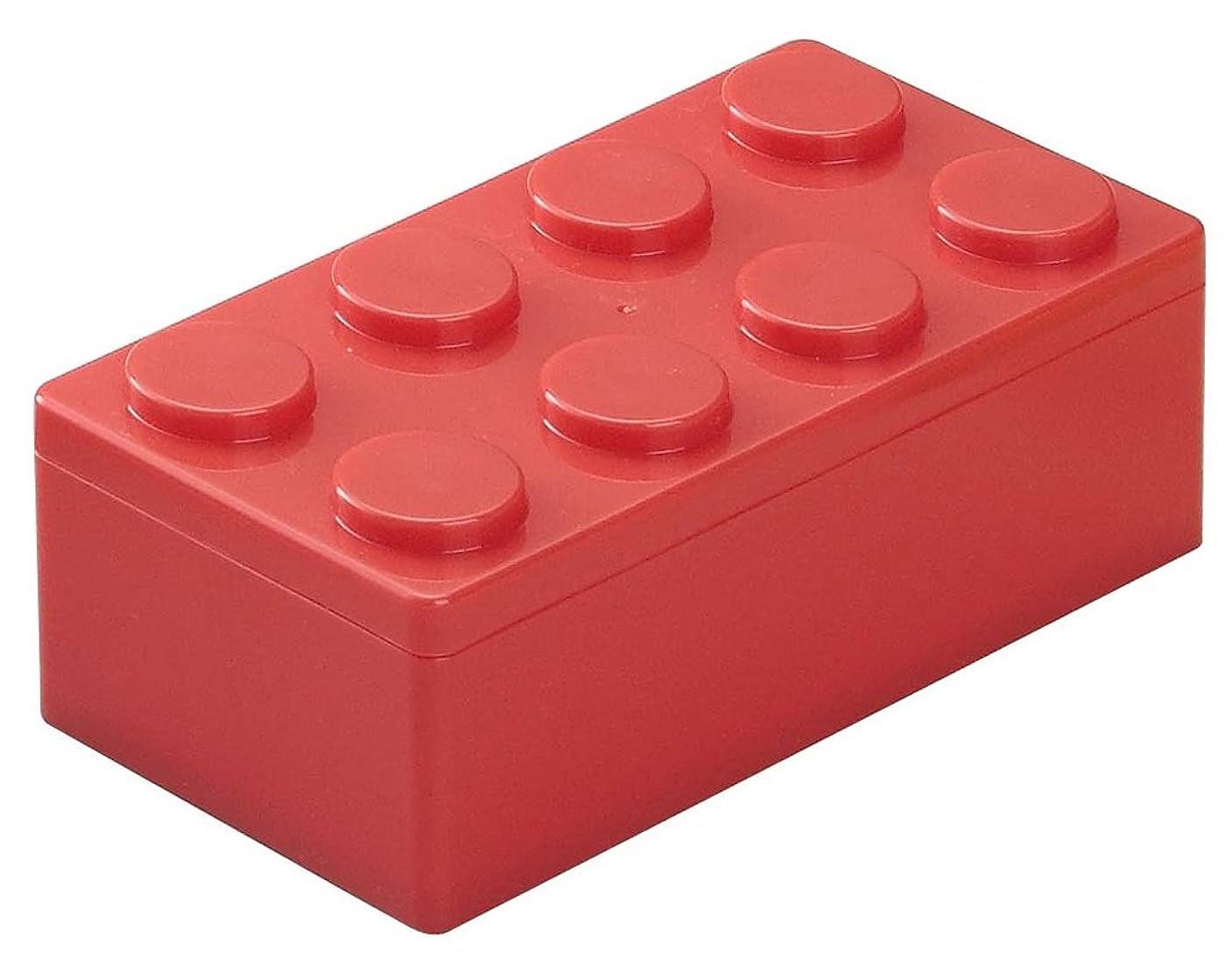 称賛悩み以前はダイヤブロック ランチボックス L レッド LBXL-070 R