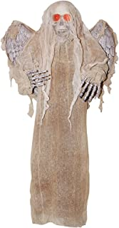 Sunstar Industries Animated Battery Operated Skeleton w/Wings Reaper Angel Moving Mouth Decor Prop