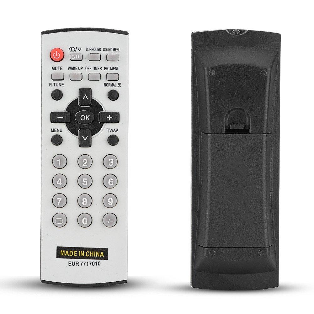 Mugast Control Remoto de TV, Universal fácil de Usar Reemplazo de Control Remoto Inteligente de TV con Distancia de Control Remoto de 8 m para Panasonic Todos los Modelos de TV: Amazon.es: