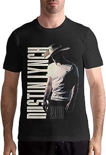 Dustin Lynch T Shirt Men's Cotton T Shirt Fashion O Neck Short Sleeve Tees