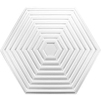 plafond d/écor polystyr/ène r-30 /ø 60 cm 1 Rosette rosace dekorrosette mur