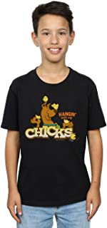 Absolute Cult Scooby Doo Niños Hangin with My Chicks Camiseta