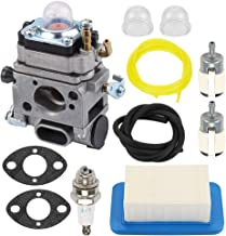 Coolwind A021001641 A021001642 Carburetor with Air Filter Tune Up Kit for Echo PB500T PB500H EB508RT Backpack Blower Walbro WLA-1 WLA-6 WLA-6-1