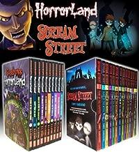 Goosebumps Horrorland Series & Scream Street 23 Books Box Gift Set Collection