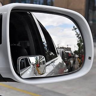 Espejo X 2 Retrovisor Redondo Convexo Regulable para /Ángulos Muertos Coche