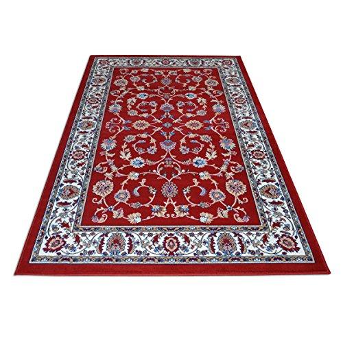 WEBTAPPETI.IT Alfombra clásica económica, diseño oriental, alfombra para salón Royal Shiraz 2079-RED, 200 x 300 cm