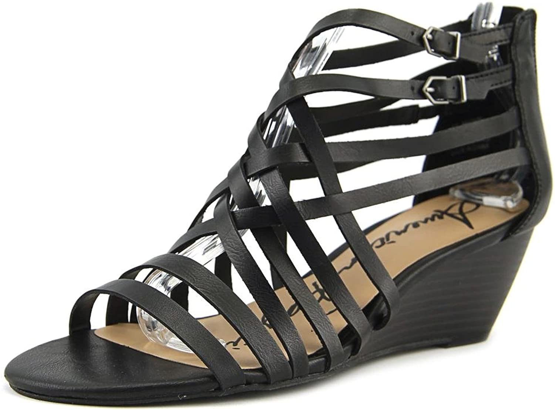 American Rag Amariel Women US 5.5 Black Wedge Sandal