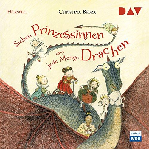 Sieben Prinzessinnen und jede Menge Drachen audiobook cover art