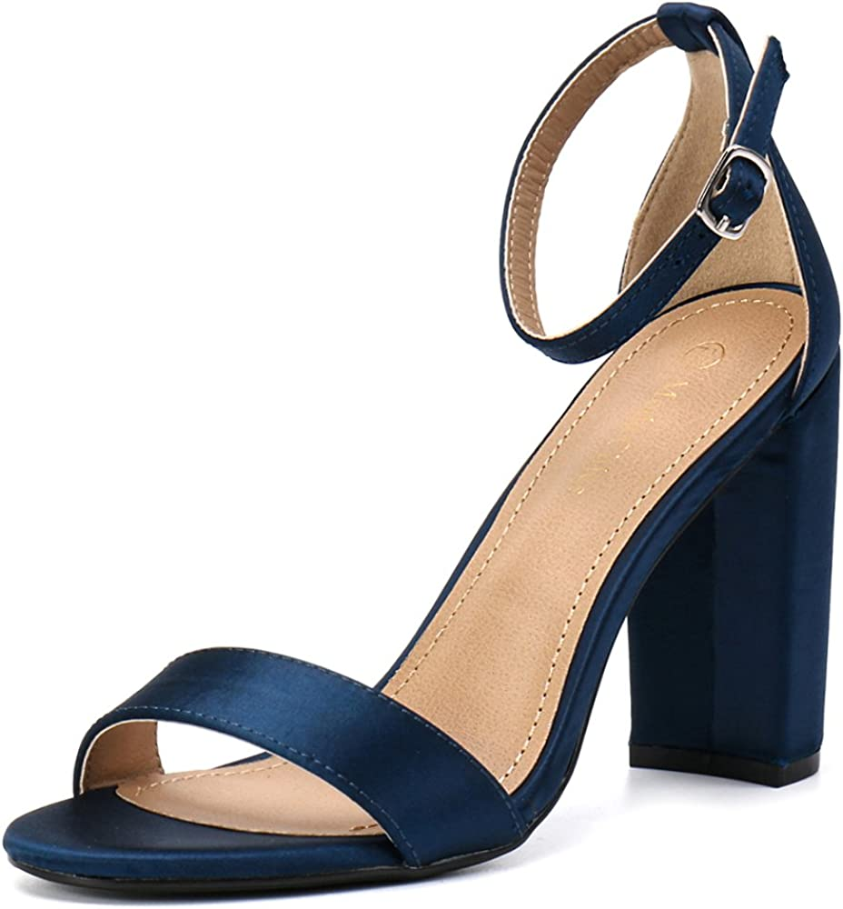 Moda Chics Womens 2 Inches Chunky Heel Sandals for Party