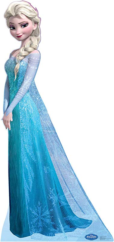 Advanced Graphics Elsa Life Size Cardboard Cutout Standup Disney S Frozen 2013 Film