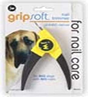 JW Gripsoft Jumbo Deluxe Nail Trimmer, Grey/Yellow