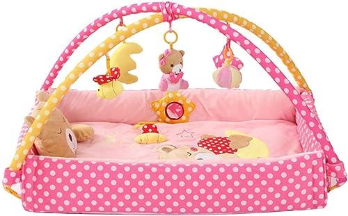 Persevering Melody - Toy Activity-Decke Krabbeldecke - Spielbogen Mit 5 Abnehmbaren Spielzeugen Für Babys Spiel & Spaß Von Geburt An