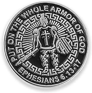 Forge Armor of God Enamel - Lapel Pin, Tie Bar or Cufflinks