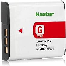 Kastar Battery (1-Pack) for Sony NP-BG1, NP-FG1 and Cyber-shot DSC-W220, DSC-W120, DSC-W150, DSC-H3, DSC-H7, DSC-H9, DSC-H10, DSC-H20, DSC-H50, DSC-H70, DSC-H55, DSC-HX5V, HX7V, HX9V, HX10V, HX30V