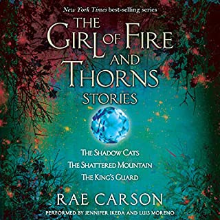 The Girl of Fire and Thorns Stories audiobook cover art