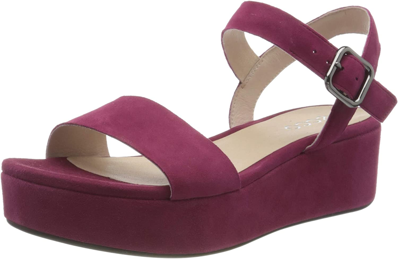 ECCO Max 74% OFF Women's Plateau Ankle Max 59% OFF Strap Sandal