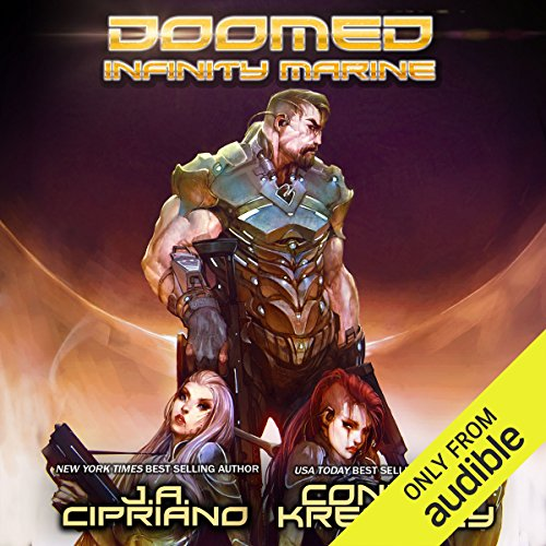 Doomed Infinity Marine audiobook cover art