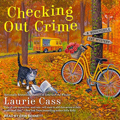 Checking Out Crime Audiobook By Laurie Cass cover art