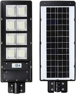 HMLIGHT 900W IP65 LED Solar Street Lumière Radar Motion Mulleau avec télécommande pour Villas Garden Yard et Pathway
