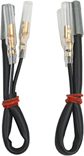 XFMT Motorcycles Turn Signal Wiring Connectors Adapter Plug Compatible with Yamaha YZF R1 600 R6 YZF-R6 1998-2012 FZ1 FZ6 FZ6R FZ8 XJ6
