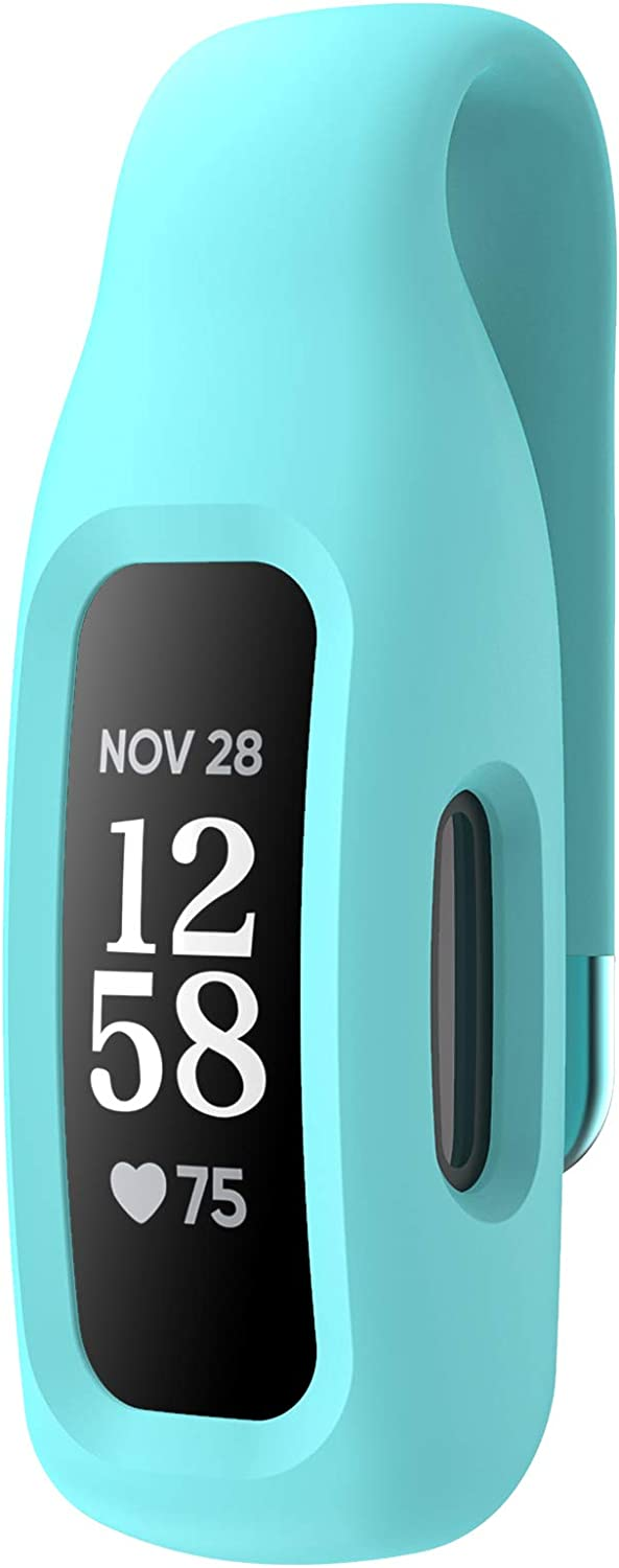 EEweca Clip Case Accessory for Fitbit Inspire 2, Teal (not for Inspire, Inspire hr, ace 2)