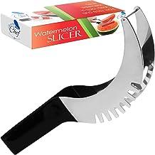 Watermelon Slicer Cutter Corer & Server - Multipurpose All In One Stainless Steel Knife Melon & Fruit Carving Slice Comfor...