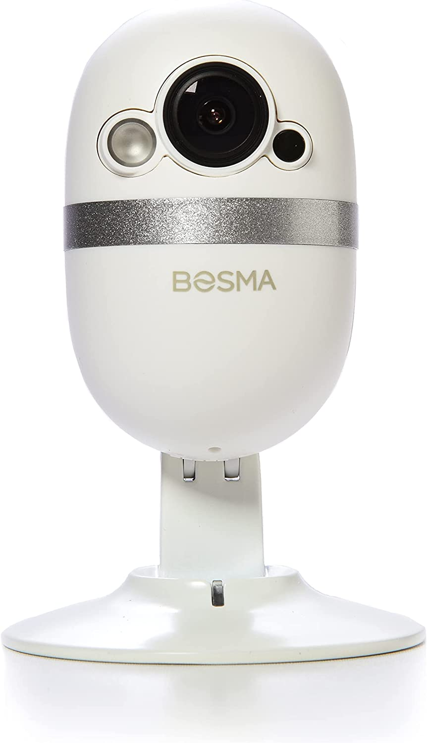 Bosma CapsuleCam Pro Baby Monitor 1080p HD WiFi Indoor Security Camera with Phone app, 2 Way Audio, Super Wide 162° Angle, Color Night Vision, Motion and Sound Detection, Free Local Storage