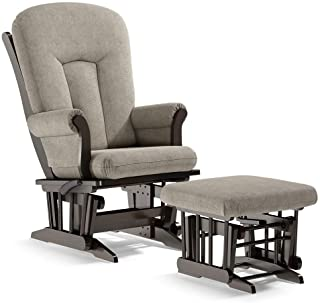 Dutailier Alice 2585 Glider Multiposition-Lock Recline with Ottoman