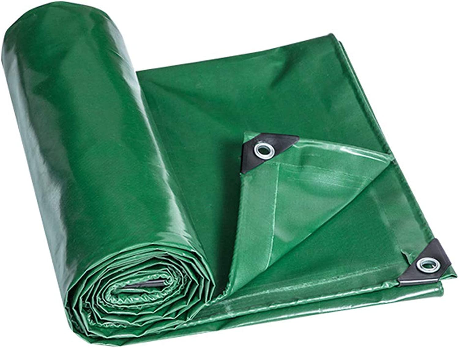 Waterproof Tarpaulin MultiPurpose Heavy Duty Easy to Fold for Camping Fishing Hiking Greenhouses Uv Resistant Cover Shelter 530g M2