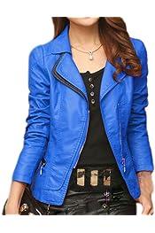 Honghu Women Long Sleeve Side Zip up Loose Casual Jackets Outwear Pockets Coats Turn-Down Collar Slim Tunic Tops
