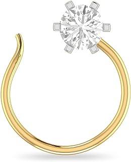 035d02e46efc5 Diamond Women's Nose Rings & Nath: Buy Diamond Women's Nose Rings ...