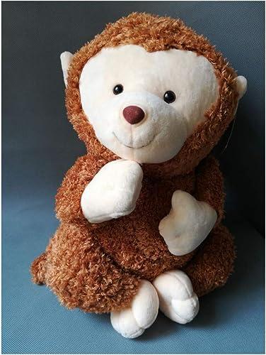 precioso TKHCOLDM Peluche de Felpa marrón Grande Grande Grande de 40 cm, Regalo de cumpleaños de Peluche suave-C10  en stock