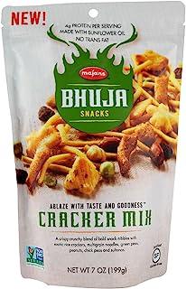 Bhuja Snacks Cracker Mix Gluten Free -- 7 oz