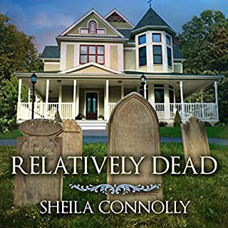 Relatively Dead audiobook cover art