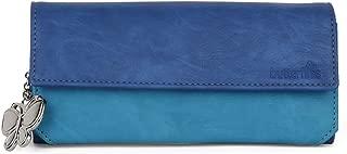 Butterflies Women Wallet (Blue) (BNS 2110BL)