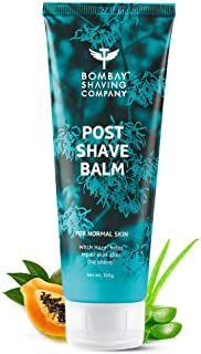 Bombay Shaving Company Post-Shave Balm- After Shaving Lotion with Witch Hazel, Alcohol Free - 100 g | Made in India