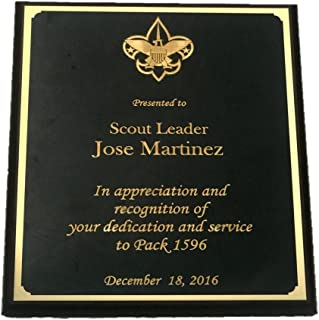 eagle scout award plaques